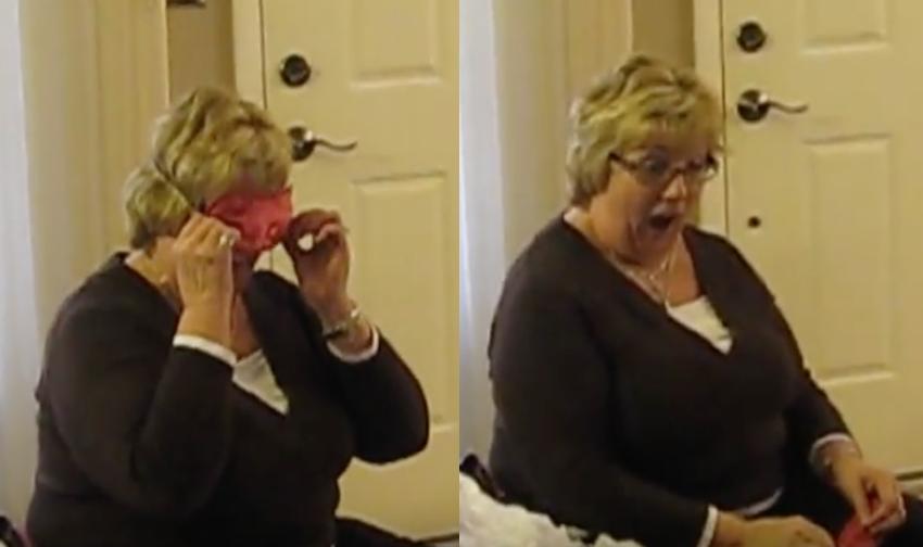 Busty granny old lesbian